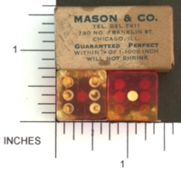 Dice : MINT1 MASON AND CO 01