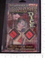 Dice : SEX PIPE DREAM 13 BEGINNERS BONDAGE DICE