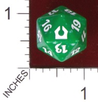Dice : D20 OPAQUE ROUNDED SPECKLED MTG LIFE COUNTERS RETURN TO RAVNICA 05