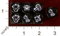 Dice : MINT29 IRON CROWN WILDS OF DOOM MONSTER COMBAT DICE 01