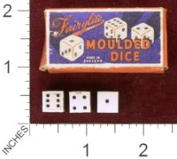 Dice : MINT35 FAIRYLITE MOULDED DICE