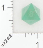 Dice : D8 TRANSLUCENT SHARP SOLID GAMESCIENCE FOX RIVER GREEN 01