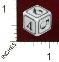 Dice : MINT43 TINDERBOX ENTERTAINMENT DICE EMPIRE SERIES 1 DECO D6