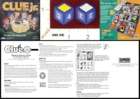 Dice : MINT21 PARKER BROTHERS CLUE JR THE CASE OF THE MISSING CAKE 01
