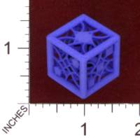 Dice : MINT29 SHAPEWAYS MCTRIVIA D6 GRID DIE 03 12