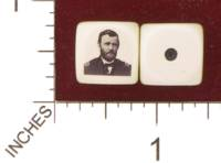 Dice : MINT29 YAK YAKS UNITED STATES OF AMERICA GENERAL ULYSSES S GRANT 01