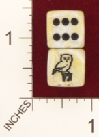 Dice : MINT18 CHESSEX FOR JSPASSNTHRU OWL 01