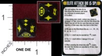 Dice : MINT36 WIZKIDS STAR TREK ATTACK WING 02 ELITE ATTACK DIE