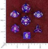 Dice : MINT50 UNKNOWN CHINESE IRIDESCENT SWIRL 01