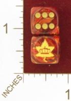 Dice : MINT25 CHESSEX CUSTOM FOR EBAY RACERSKA CANADIAN MILITARY INSIGNIA 01