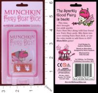 Dice : MINT29 STEVE JACKSON GAMES MUNCHKIN FAIRY DUST DICE 01