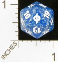 Dice : D20 OPAQUE ROUNDED SPECKLED MTG LIFE COUNTERS NEW PHYREXIA 03