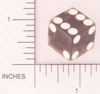 Dice : BAD CLEAR SHARP SOLID UNKNOWN GREY 01