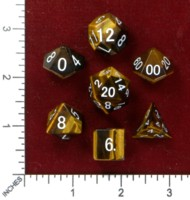 Dice : MINT46 THE DICE SHOP ONLINE TIGERS EYE