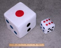 Dice : FOAM2 UNKNOWN CHINESE