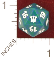 Dice : D20 OPAQUE ROUNDED SPECKLED MTG LIFE COUNTERS INNISTRAD 05
