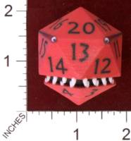 Dice : MINT29 SHAPEWAYS AEGIDIAN D20 MONSTER FIGURENE 01