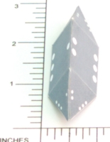 Dice : PAPER D03 MY DESIGN ELONGAGED TRIANGULAR DIPYRAMID