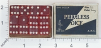 Dice : MINT1 A N C PEERLESS DICE 01