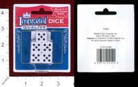Dice : MINT44 PATCH PRODUCTS IMPERIAL QUALITY DICE
