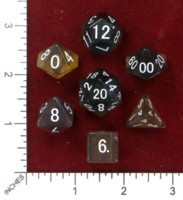 Dice : MINT46 THE DICE SHOP ONLINE FLOURITE RAINBOW