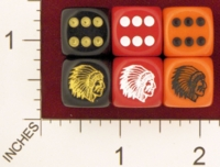 Dice : MINT22 CHESSEX FOR JSPASSINTHRU SOUIX WAR BONNET 01