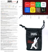 Dice : MINT46 POCKET SPORTS TEST CRICKET