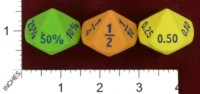Dice : FOAM2 EAI EDUCATION 10 SIDED EQUIVALENCY DICE 01