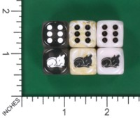 Dice : MINT55 JSPASSNTHRU SLEEPING DEER