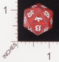 Dice : D20 OPAQUE ROUNDED SPECKLED MTG LIFE COUNTERS EVENTIDE 01