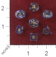 Dice : MINT41 CRYSTAL CASTE QUARTZ ELECTOPLATED COSMIC AURA