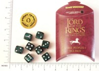 Dice : DUPS03 GAMES WORKSHOP LORD OF THE RINGS FREE PEOPLE