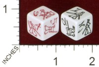 Dice : MINT43 TINDERBOX ENTERTAINMENT DICE EMPIRE SERIES 1 NAKED BLADE