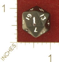 Dice : MINT26 EBAY FROSTBITE0117 WEIGHTED D20 01