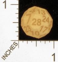 Dice : MINT28 SHAPEWAYS MCTRIVIA SOLID D28 01