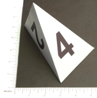Dice : PAPER D04 MY DESIGN WEDGE