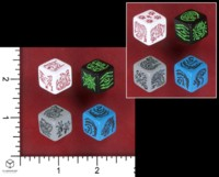 Dice : MINT53 CLOCKWISE STUDIOS SIX SIDED SUMMONER CLOCKWISE DICE