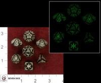 Dice : MINT35 Q WORKSHOP TRIBAL GLOW