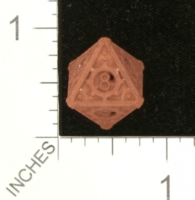 Dice : MINT27 SHAPEWAYS GYTHAWEN STEAMPUNK D8 02