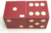 Dice : LOOSE D6 BALSA