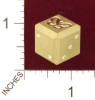 Dice : MINT21 ACE PRECISION BRASS BUTTERFLY