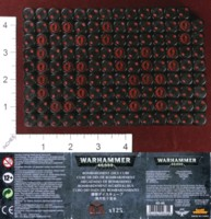 Dice : MINT35 GAMES WORKSHOP BOMBARDMENT DICE 01