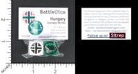 Dice : MINT56 BATTLESCHOOL BATTLEDICE EUROPA SERIES HUNGARY