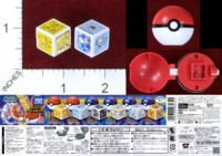 Dice : MINT40 TOMY POKEMON KING DICE SET 1 01