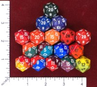 Dice : MINT46 CHESSEX D20