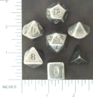 Dice : METAL PEWTER MULTI 01