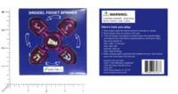 Dice : MINT59 DREIDEL COMPANY DREIDEL FIDGET SPINNER PINK