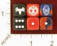 Dice : MINT26 CHESSEX MARVEL SPIDERMAN 01