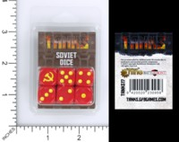 Dice : MINT55 BATTLEFRONT GALE FORCE NINE TANKS SOVIET