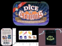 Dice : MINT54 THING 12 GAMES DICE OF CROWNS